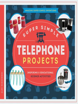 cover image of Super Simple Telephone Projects